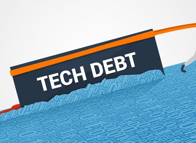 Understanding and Countering Technical Debt in an Enterprise